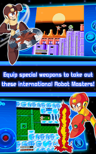 MEGA MAN 6 MOBILE- screenshot thumbnail