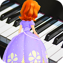 Princess Fofia Piano Magic Tiles Game For Kids icon