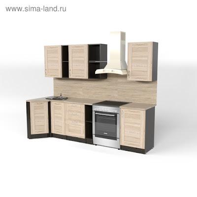 Кухонный гарнитур Томилла прайм 4 900*2000 мм