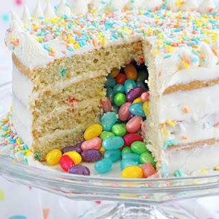 Gluten Free Surprise Inside Jelly Bean Cake