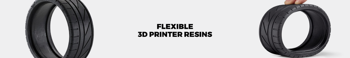 Flexible 3D Printer Resins