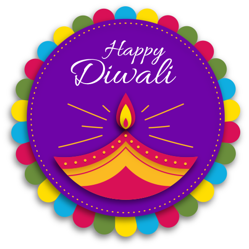 diwali stickers on whatsapp