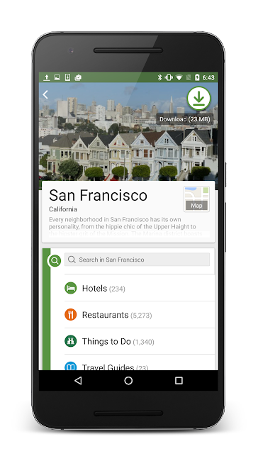 #7. TripAdvisor Hotels Restaurants (Android)