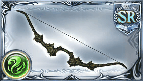 緑の依代の弓