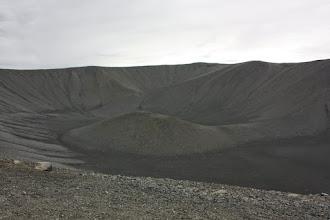 Photo: Krater. I miliony muszek.