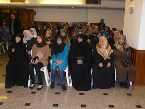Photo: جانب من الحضور في محاضرة مناهضة العنف ضد المرأة مع السيد جعفر فضل الله