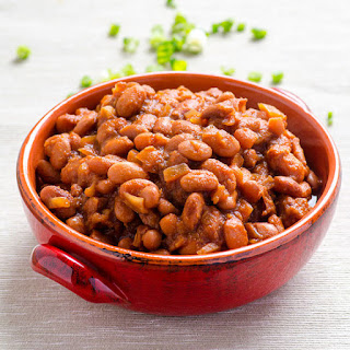 Clean Eating Slow Cooker BBQ Beans Recipe