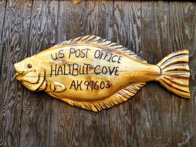 Halibut Cove post office