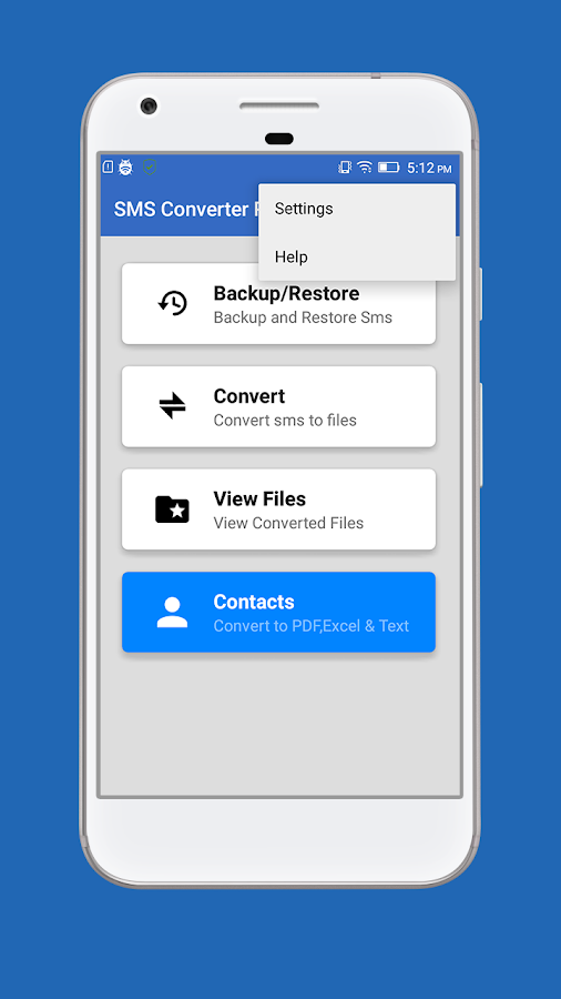 SMS Converter ( All in one )- screenshot