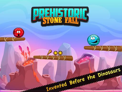 先史時代の石の秋