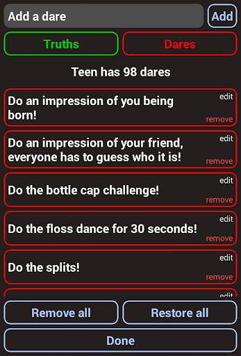 Truth Or Dare - 2020 ULTIMATE Party Game apkpoly screenshots 22