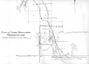 Photo: Charlton Timber Limit, (MNR) - created after 1911 as it shows the townships created by the Code brothers of Cobalt, ON
