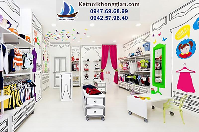 thiết kế, bài trí cửa hàng đẹp