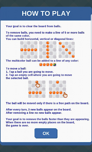 Color Lines: Match 5 Balls Puzzle Game 4.08 screenshots 3