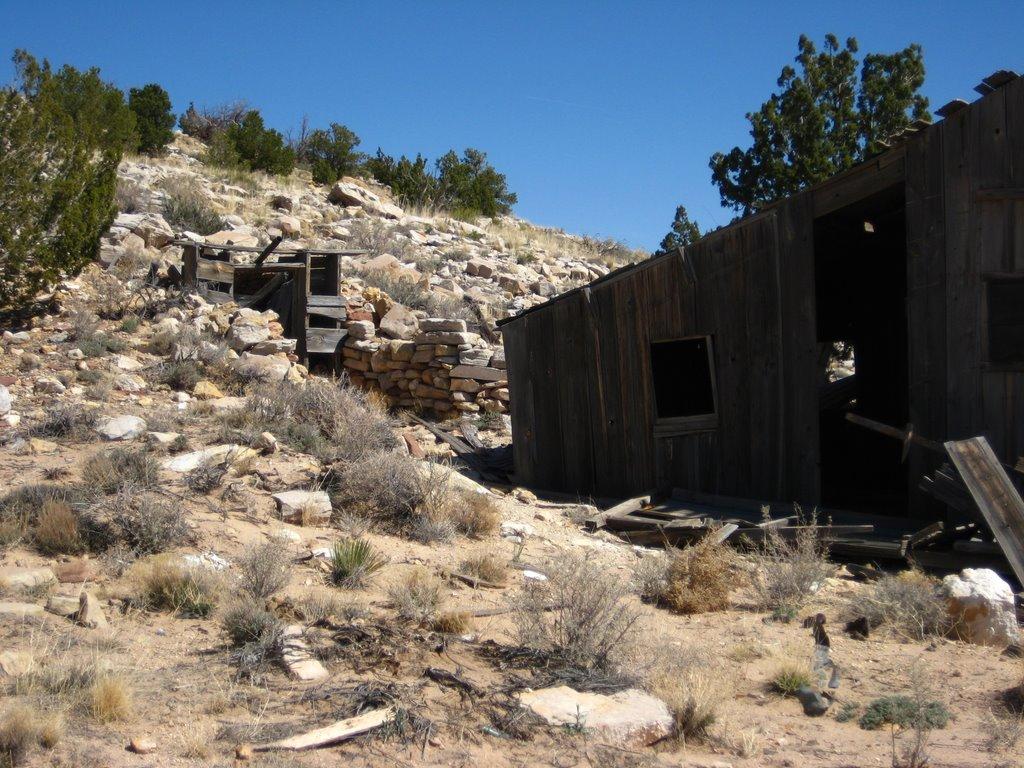 Photo: Mine buildings