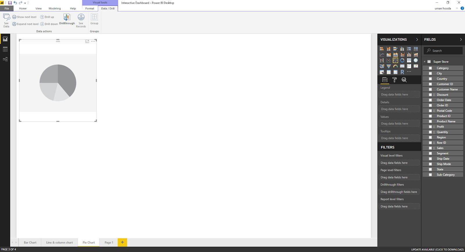 Interactive Dashboard In Microsoft Power BI 38