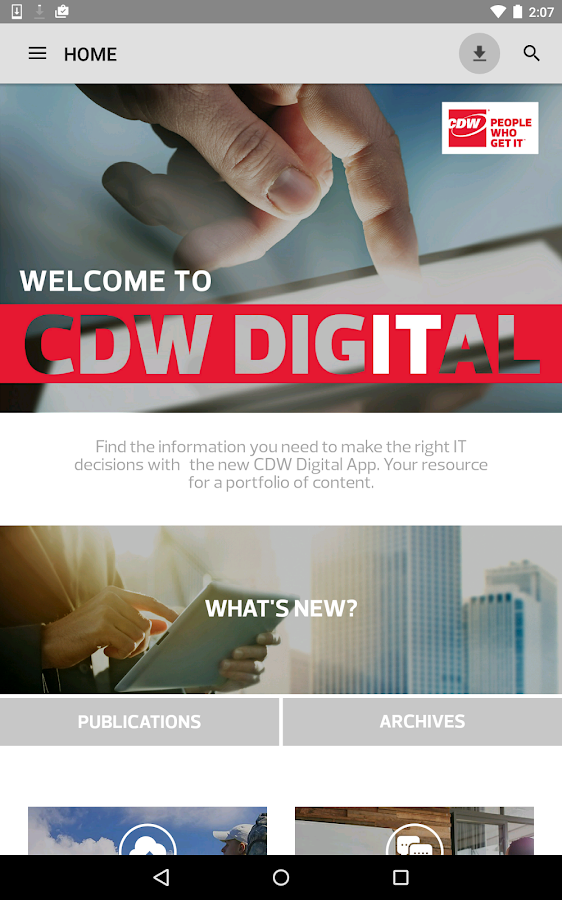 CDW Digital- screenshot