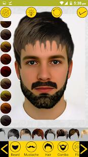 Add Hair Beard Mustache Styles to Photo (Prank) - náhled