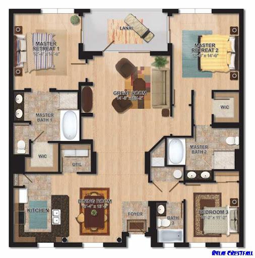 3D家庭計劃模型設計