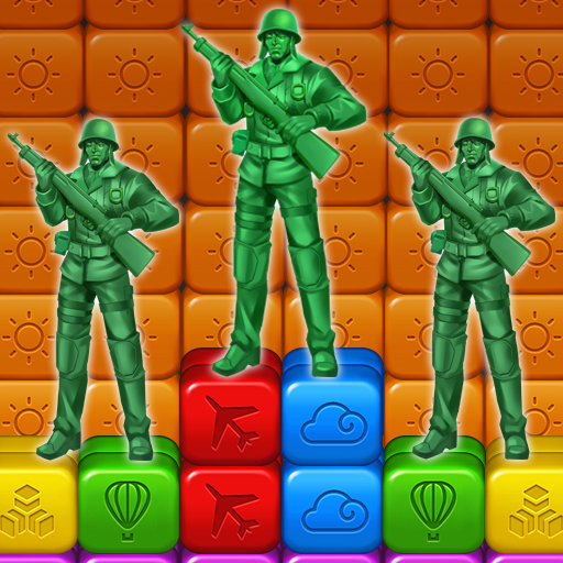 Toy Puzzle Crush:Army Men