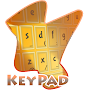 Simple Yellow Keypad Cover APK icon