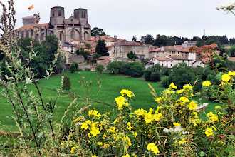 Photo: La Chaise-Dieu, Auvergne. We attended several concerts at a music festival here.