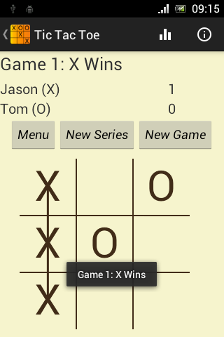 Tic Tac Toe - Free, Lite Game- screenshot