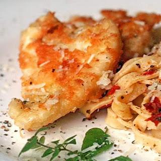 Parmesan Crusted Cod.