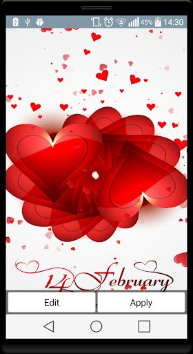 バレンタインデーの壁紙