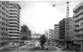 Photo: Campolongo anos 70  coas torres dos edificiós