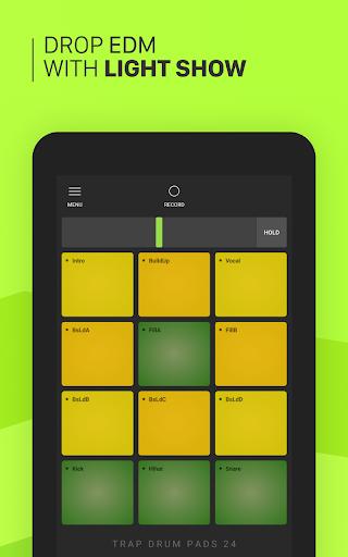 Trap Drum Pads 24 - Make Beats & Music screenshot 12