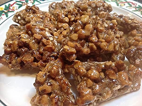 Black Walnut Microwave Nut Brittle