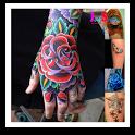 Full Color Tattoo Design icon
