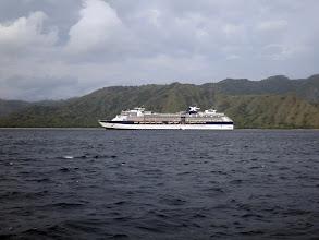 Photo: Celebrity Millinium Sailing along Komodo Island