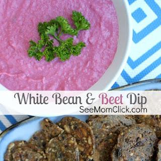 White Bean and Beet Dip