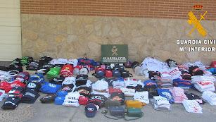 Camisetas retiradas del comercio roquetero.
