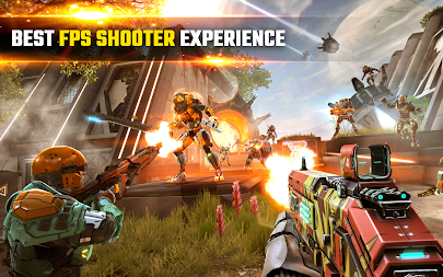 SHADOWGUN LEGENDS - FPS PvP Free Shooting Games APK screenshot thumbnail 9