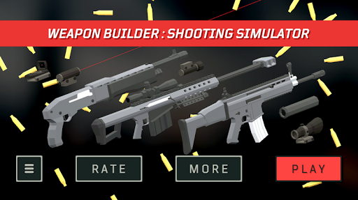 Weapon Builder : Shooting Simulator  captures d'u00e9cran 1