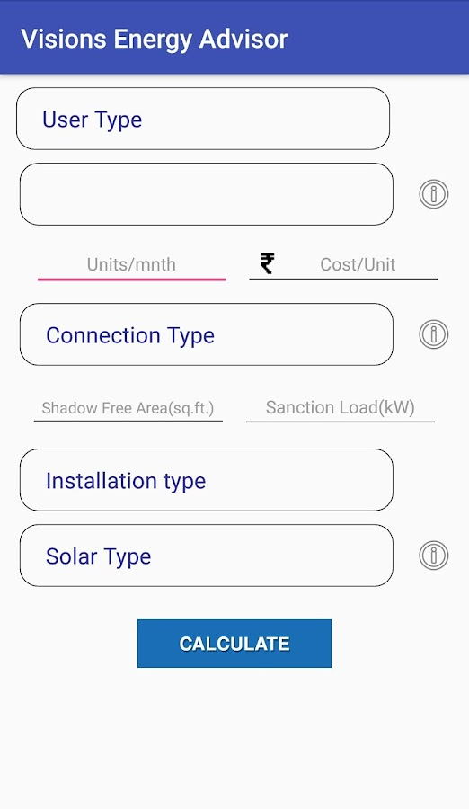 Visions Energy Advisor- screenshot