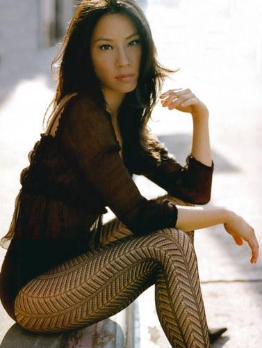 Foto de la actriz Lucy Liu