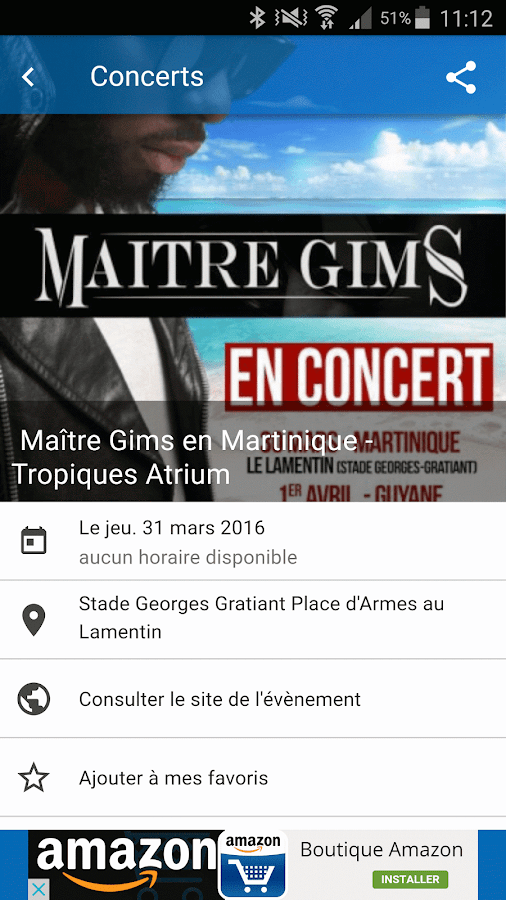 Agenda Martinique Coconews- screenshot