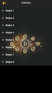 DCH Wallet - náhled