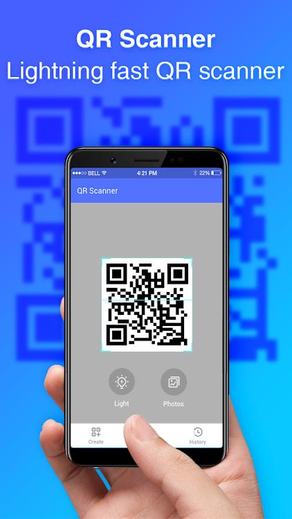 QR Scanner: Barcode Scanner & QR Code Reader – (Android Apps