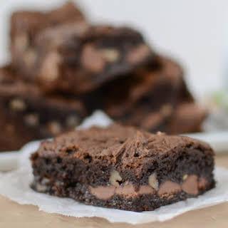 Healthier Chocolate Gooey Cake Bars.