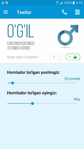 Homiladorlik davri 5.0 screenshots 4