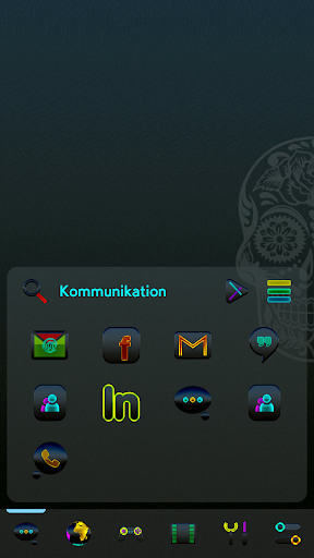 Screenshot for EXA Smart Launcher Theme in United States Play Store