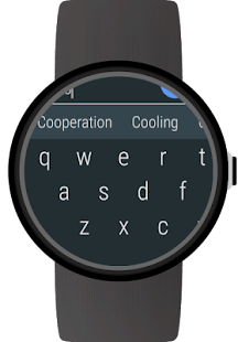 Keyboard for Android Wear- screenshot thumbnail
