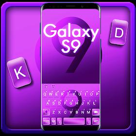 Тема для клавиатуры Simple Galaxy S9