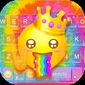 Tie Dye Keyboard Theme icon