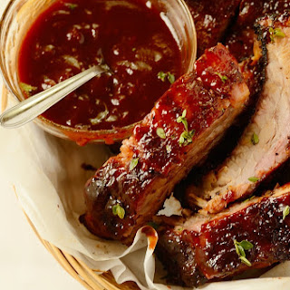 Red Wine Barbecue Pork Ribs